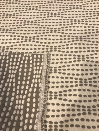 reversible fabric for chair seat