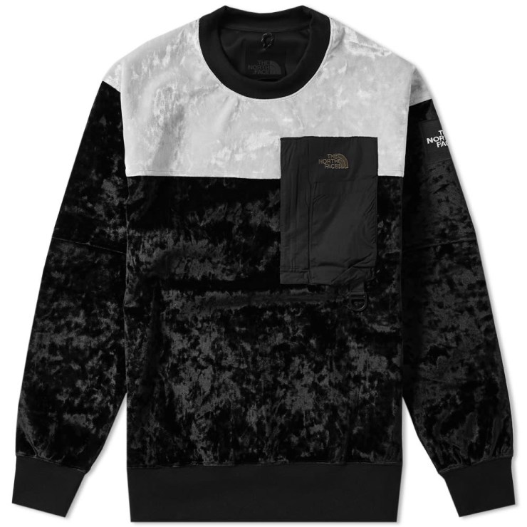 The North Face Black Series Velvet Pullover Crewneck in Black