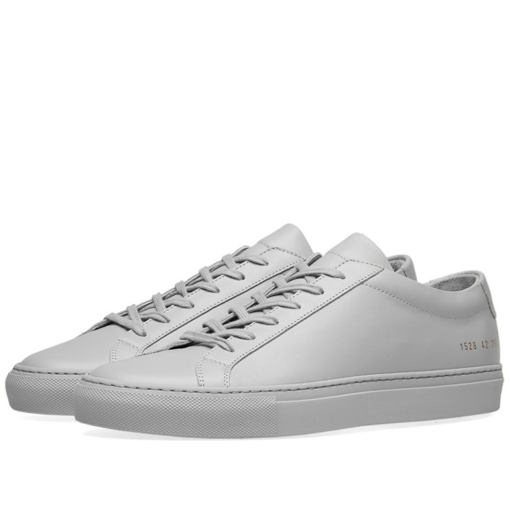 Common Projects Achilles Low Sneakers 'Light Grey'
