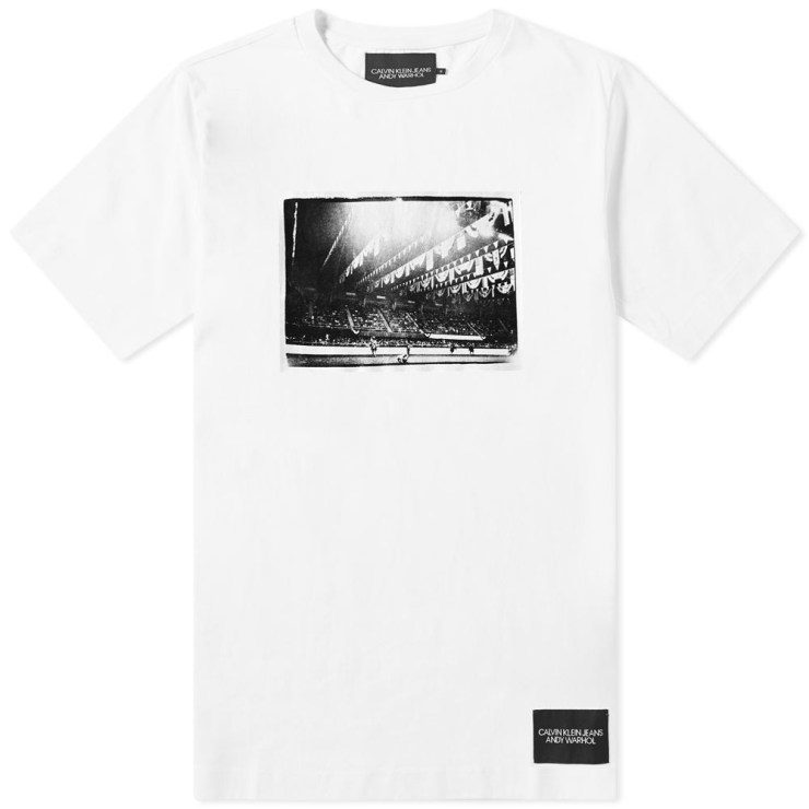 Calvin Klein x Andy Warhol Rodeo T-Shirt in White