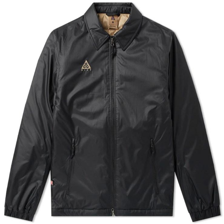 Nike ACG Primaloft Jacket in Black and Beige