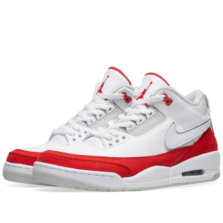 Nike x Air Jordan 3 'Tinker' Red, White and Grey