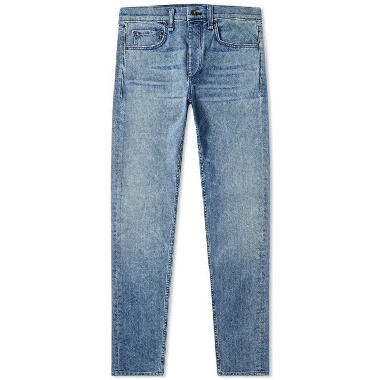 Rag & Bone Blue Ultica Wash Skinny Jeans Men