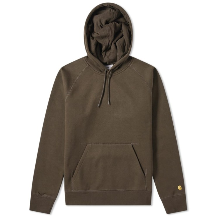 Carhartt Chase Sweat Hoody 'Brown'