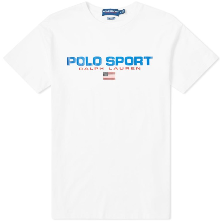 Ralph Lauren Polo Sport T-Shirt in White