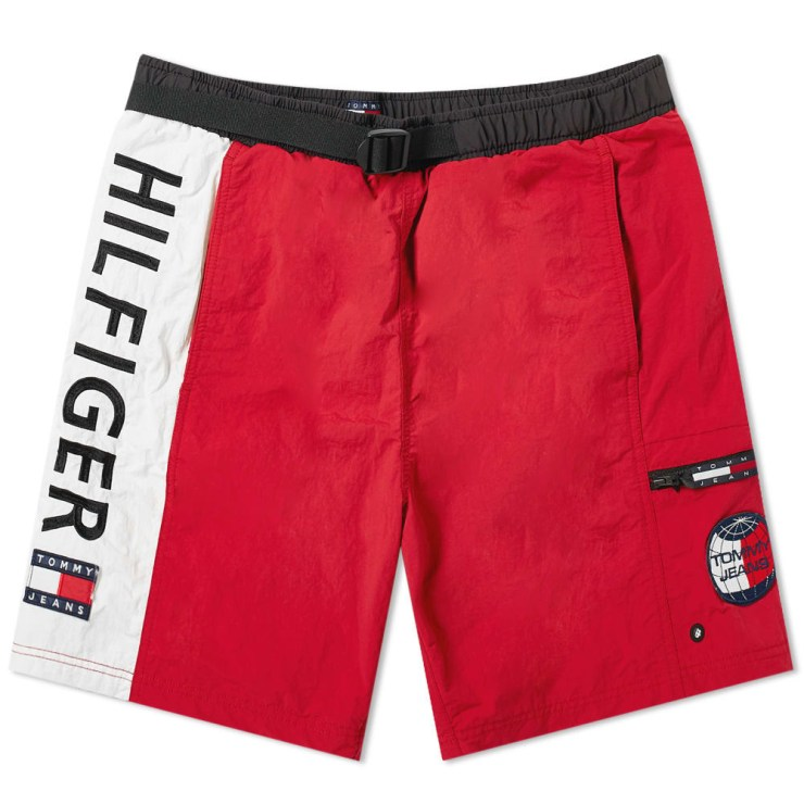 Tommy Jeans Summer Logo Shorts 'Cherry'