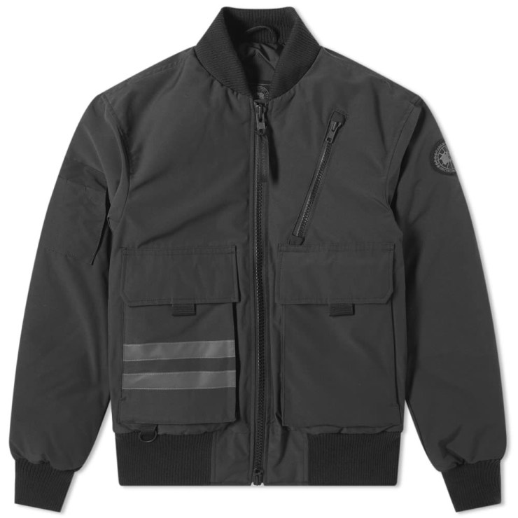 Canada Goose Black Label Kirkfield Bomber Jacket 'Black'