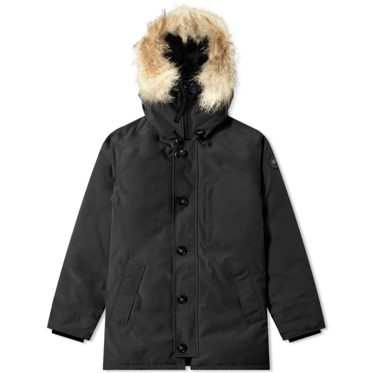 Canada Goose Black Label Chateau Parka Jacket in Black