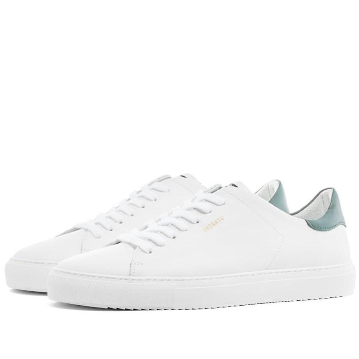 Axel Arigato Clean 90 Sneakers 'White & Green'