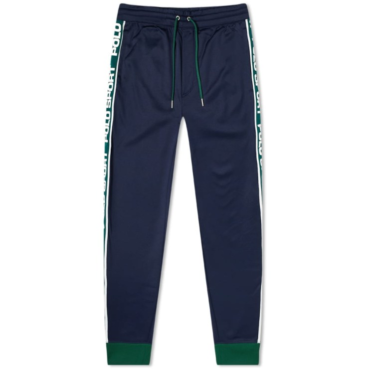 Polo Sport Ralph Lauren Taped Trackpants 'Navy & Green'