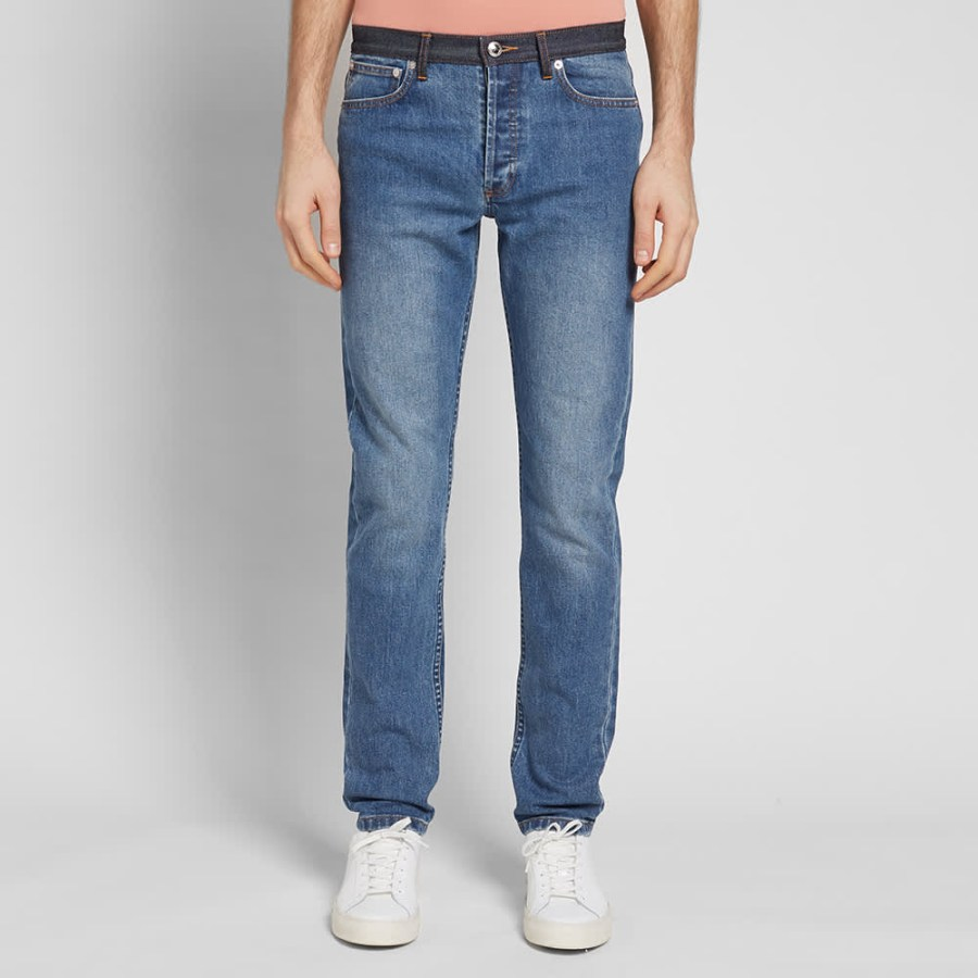 A.P.C. Petit New Standard Jeans 'Washed Indigo'