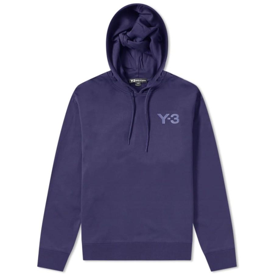 Y-3 Classic Logo Hoodie 'Blue'