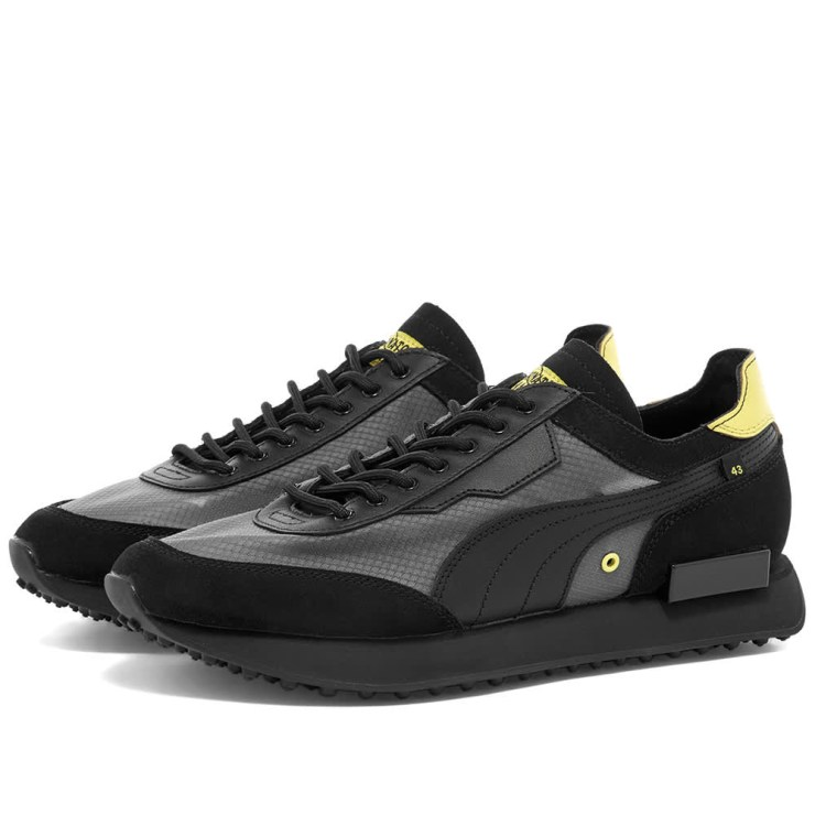 Puma x Chinatown Market Future Rider Sneakers 'Black'