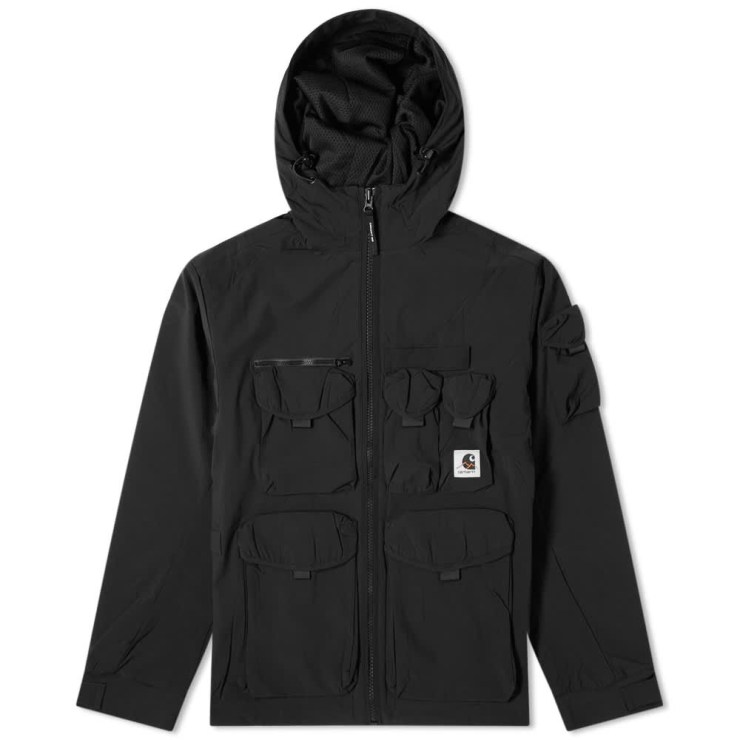 Carhartt WIP Hayes Hooded Jacket 'Black'