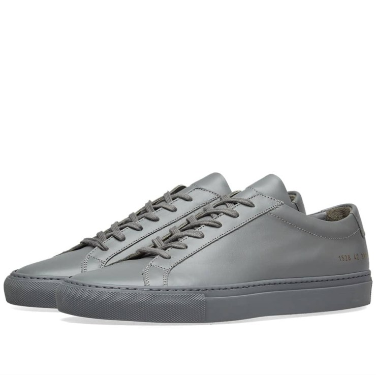 Common Projects Achilles Low 'Medium Grey'