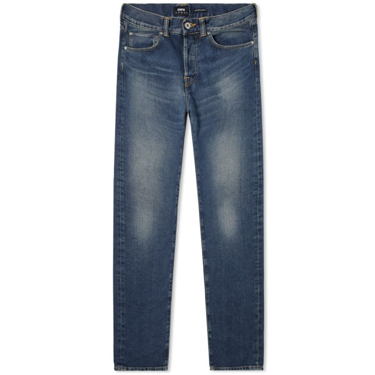 Edwin ED-55 Regular Tapered Jeans 'Worn Blue'