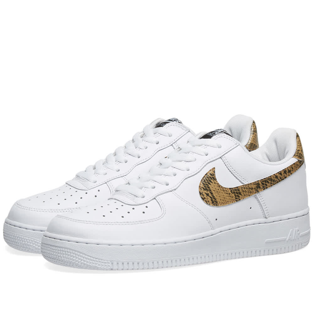 Nike Air Force 1 Low 'White & Ivory Snake' MRSORTED  MRSORTED