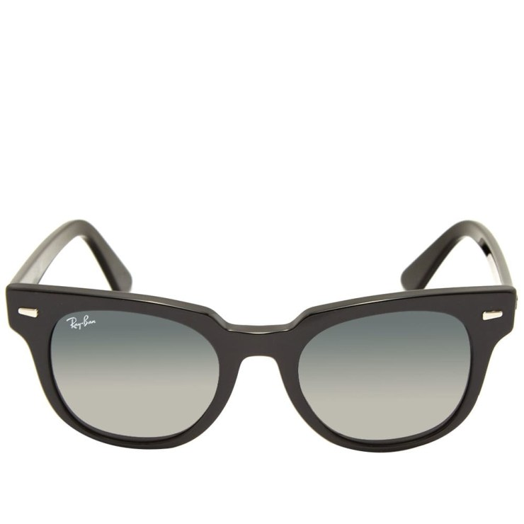 Ray-Ban Meteor Sunglasses 'Black & Green'