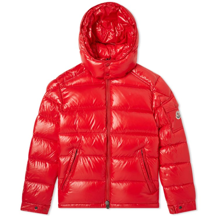 Moncler Maya Down Winter Jacket 'Red'