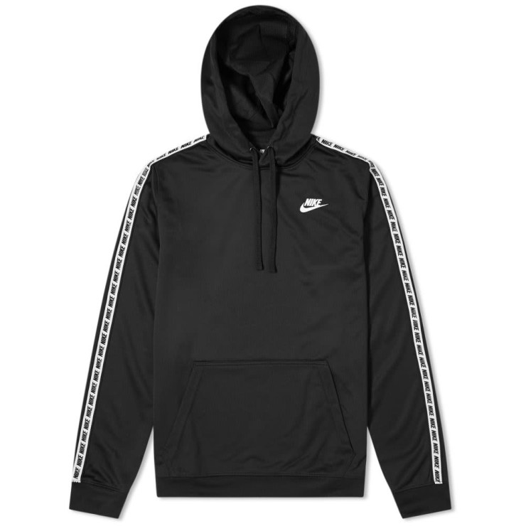 Nike Repeat Poly Pullover Hoody 'Black'