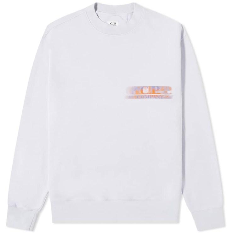 C.P. Company Motion Reverse Print Sweatshirt 'Thistle'
