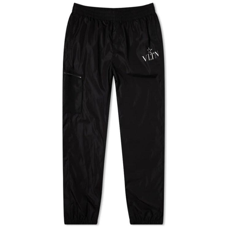 Valentino Technical VLTN Pants 'Black'