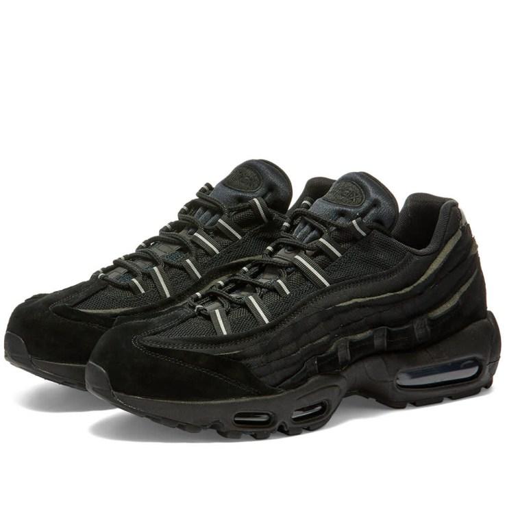 Comme des Garçons x Nike Air Max 95 'Black'