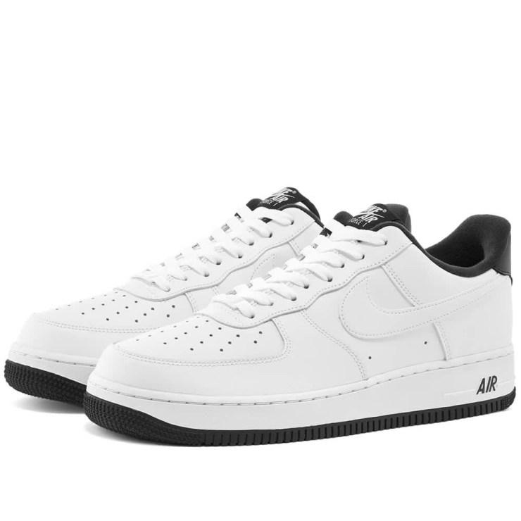 Nike Air Force 1 '07 Varsity 'White & Black'