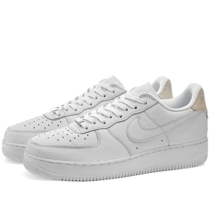 Nike Air Force 1 '07 Craft 'White & Vast Grey'