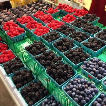 St Lawrence Markets Strawberrys