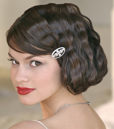 short length wedding hair, short length bridal hair