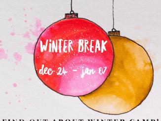 Winter Break & Winter Dance Camp