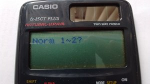 Norm 1 2