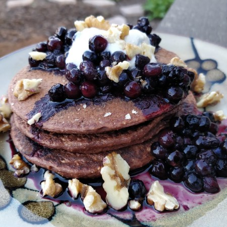 Holy Cacao Pancakes