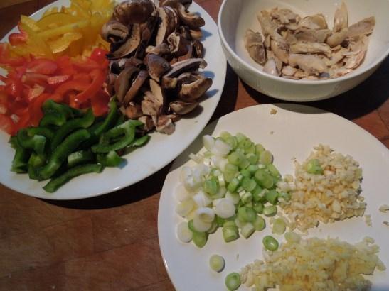 Image of stir fry ingredients