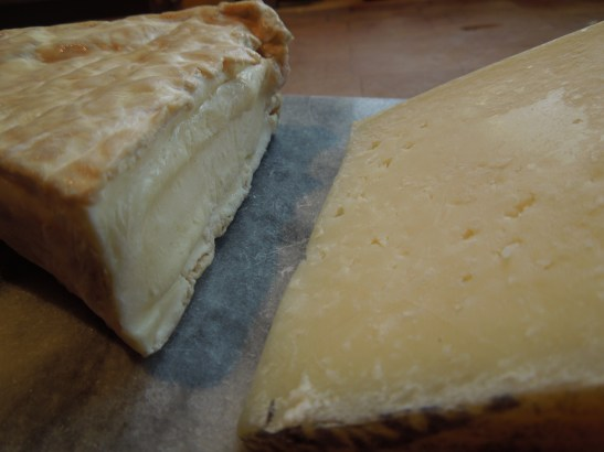 Image of two cheeses