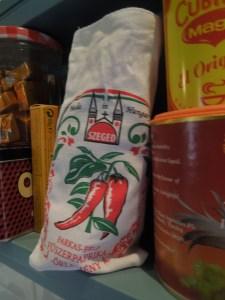 Image of a bag of Hungarian paprika