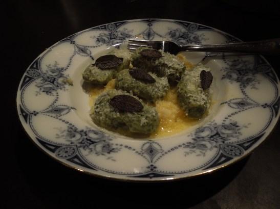 Image of a plateful of gnocchi verdi