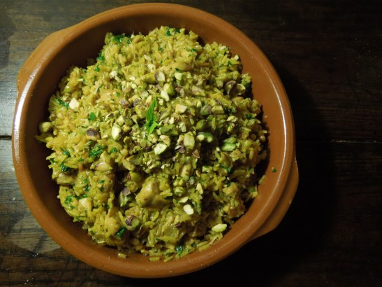 Image of a bowl of pilaf