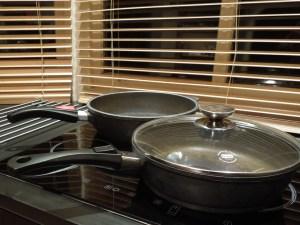 Image of cast aluminium pans