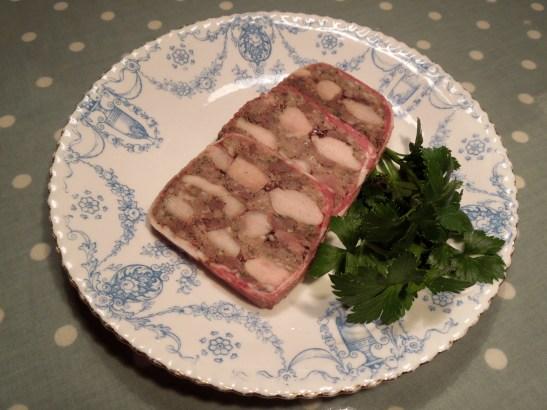 Image of slices of terrine