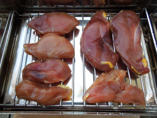 Image of game ready for smoking