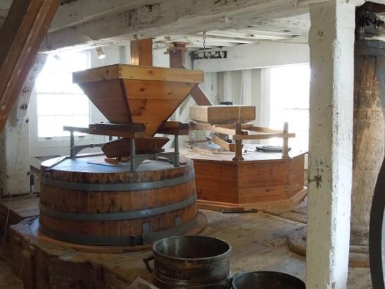 Image of mill machinery