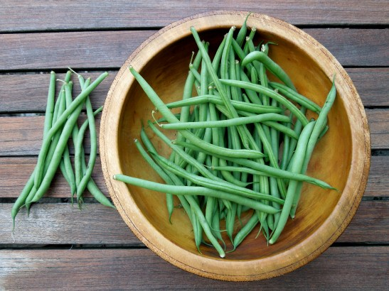 Image of a bowlful of French beans