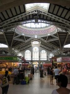 Image of central market, Valencia