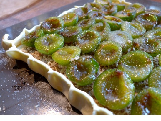 Image of tart with incorrect edge