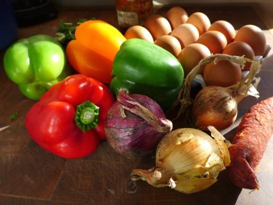 Image of raw ingredients