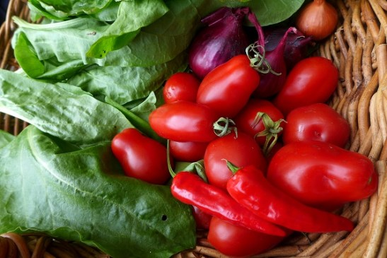 Image of garden veg for curry