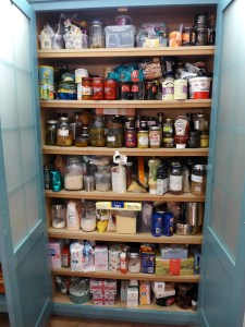 Image of kitchen cupboard