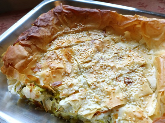 Image of the cooked pie